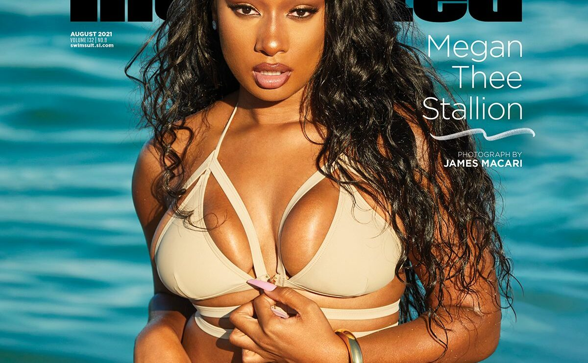 Megan-Thee-Stallion-first-rapper-SISwimsuit-cover