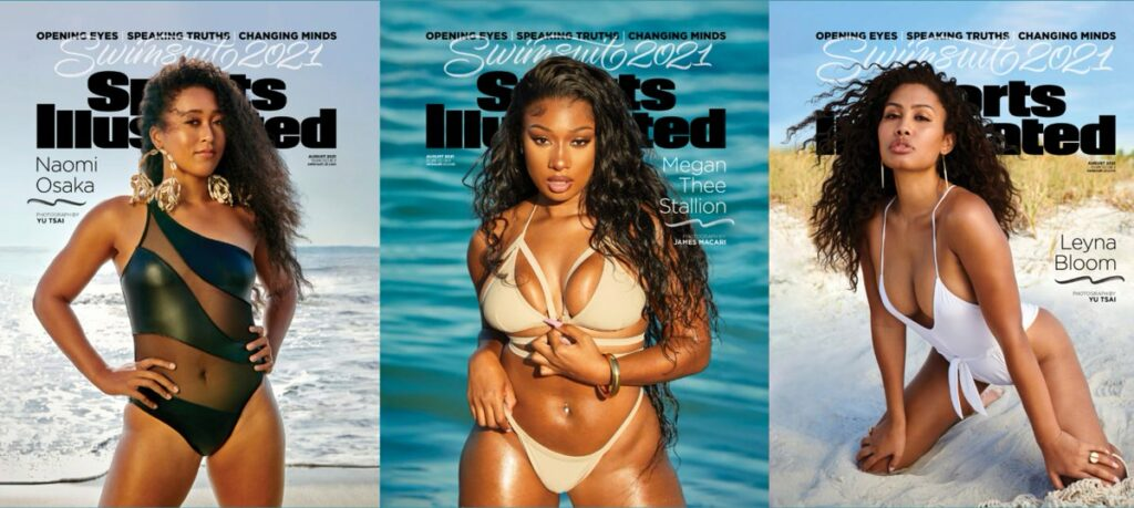 Leyna Bloom becomes a first trans cover model for Sports Illustrated's swimsuit issue